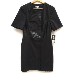 3.1 Phillip Lim Target Faux Leather Shift Dress